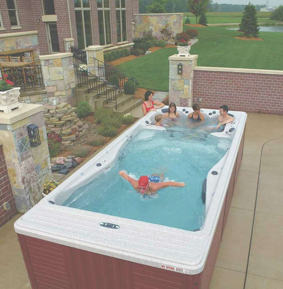 Hot tubs trends in hot tubs and spas times union for Spa swimming pool