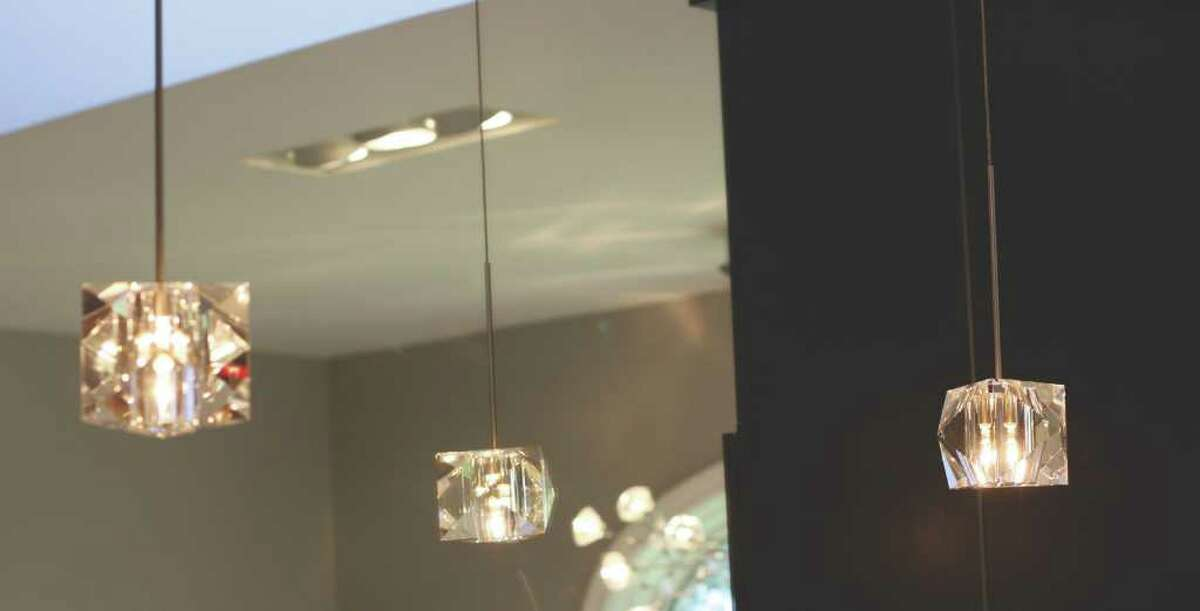 (Colleen Ingerto/Life@Home) After: Detail of the new crystal pendant lighting