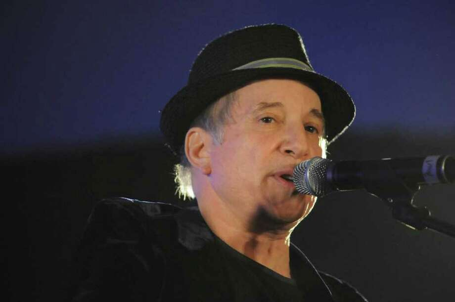 Paul Simon performs during the Multiple Myeloma Research Foundation's gala on Saturday, Oct. 30, 2010, at the Hyatt Regency Greenwich. Photo: Lisa Weir / The News-Times Freelance