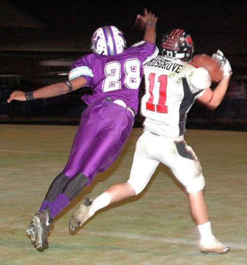 Randy Musgrove was a key component in Kirbyville?s victory over Newton Friday, Nov. 7. Musgrove caug