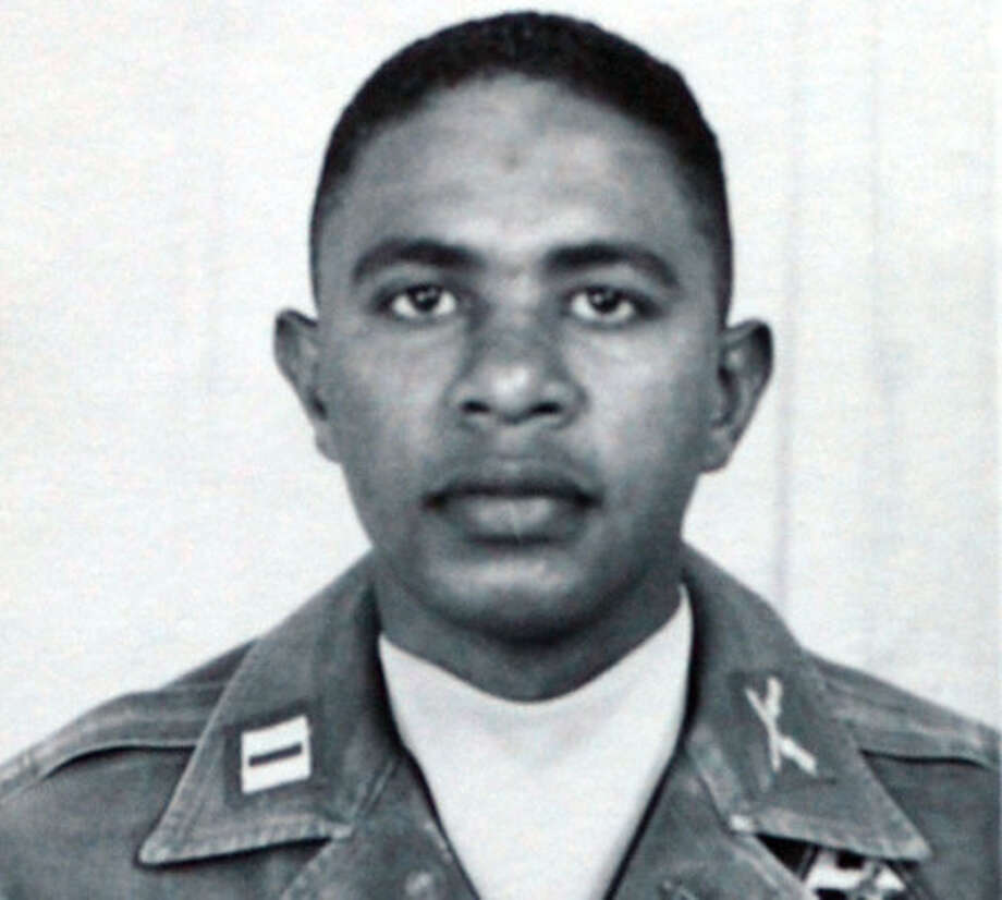 Captain Clinton Wright in the U.S. Army