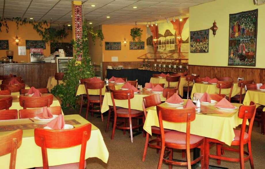 Inside the restaurant on Central Avenue (Luanne M. Ferris / Times Union) Photo: Luanne M. Ferris