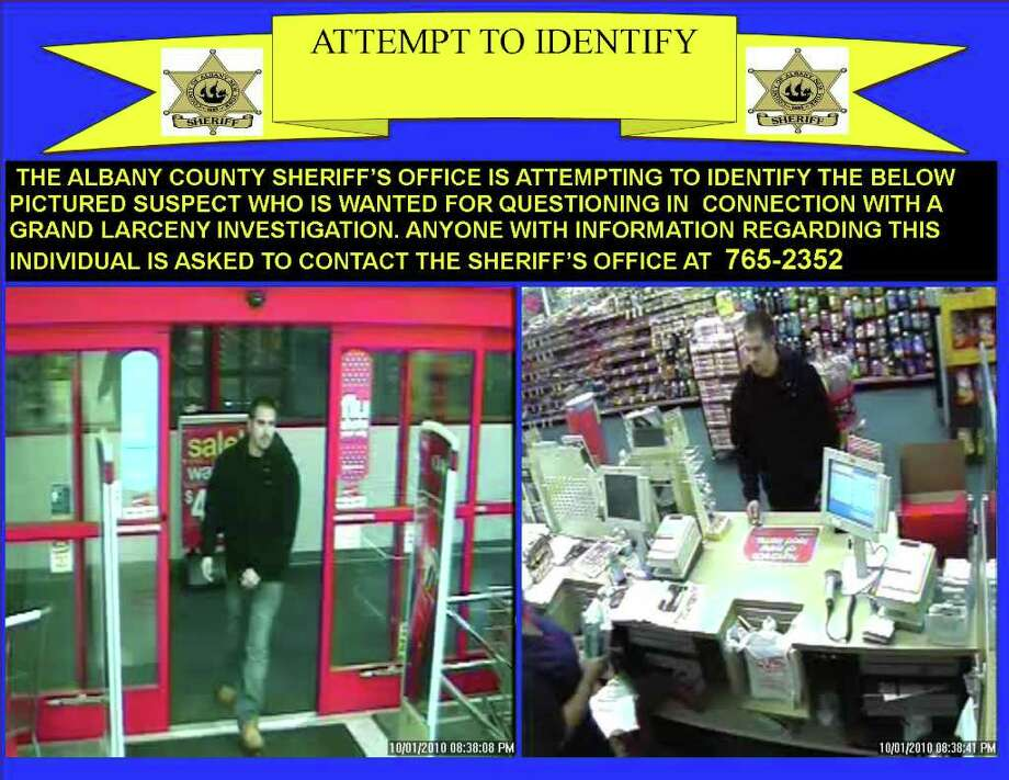 The Albany County Sheriff's Office is seeking the public's help in identifying this thief who used a stolen credit and was captured on a surveillance camera at a CVS on Central Avenue in Albany.