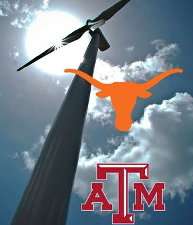 Two new companies, Texas Longhorns Energy and Texas A&M Aggie Energy, will make contributions to the universities they?re named for and their athletics programs for each customer who buys renewable energy.