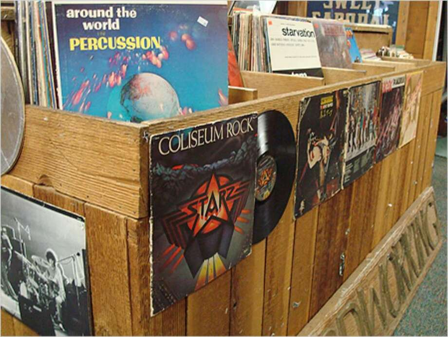 Flip Side Record Parlor offers vinyl galore.