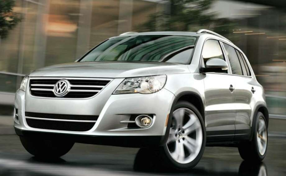 The 2010 Volkswagen Tiguan SUV, a crossover version of the Jetta, has carlike ride and handling, and a peppy turbocharged four-cylinder engine.