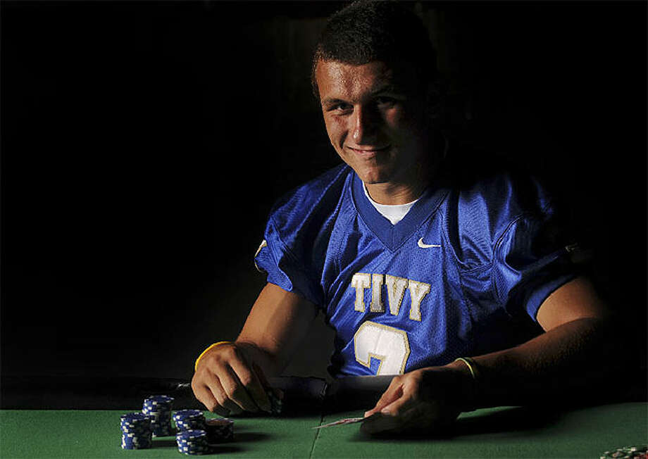 It?s a Friday night risk trying to match wits with the unpredictable, aggressive gambling of Kerrville Tivy blue-chip quarterback Johnny Manziel.
