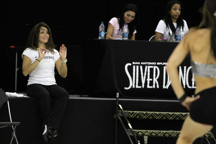 Former Silver Dancer Kristine Koenig helped out with choreography. / special to the Express-News
