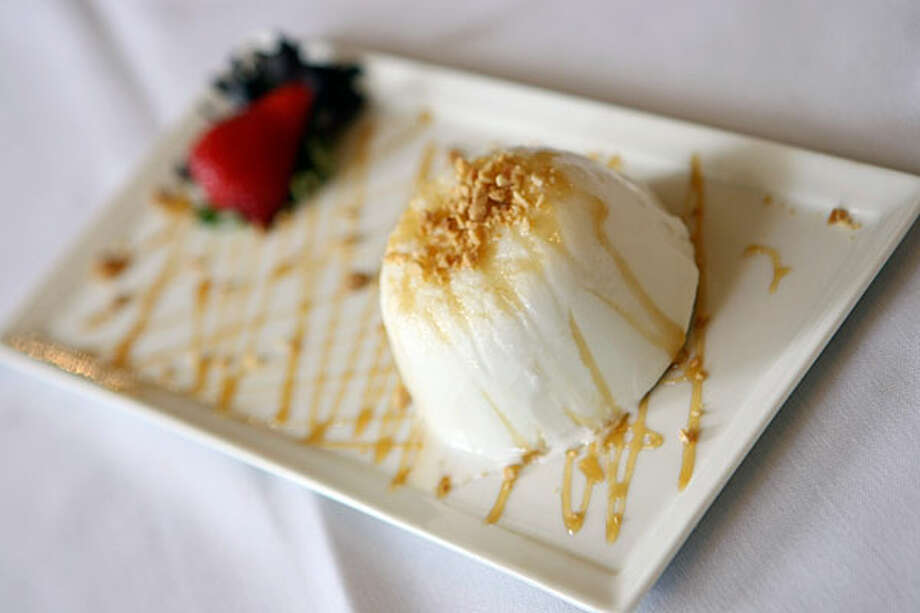 Coconut Ice Cream soothes the palate after a spicy meal at YaYa's Thai Restaurant and Sushi Bar.