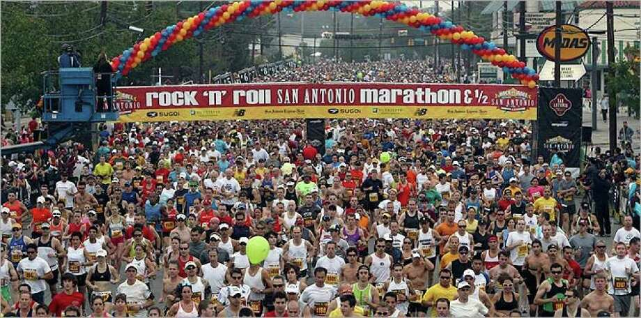 A lot of mental and physical preparation goes into just getting to the starting line of a 26.2-mile race.