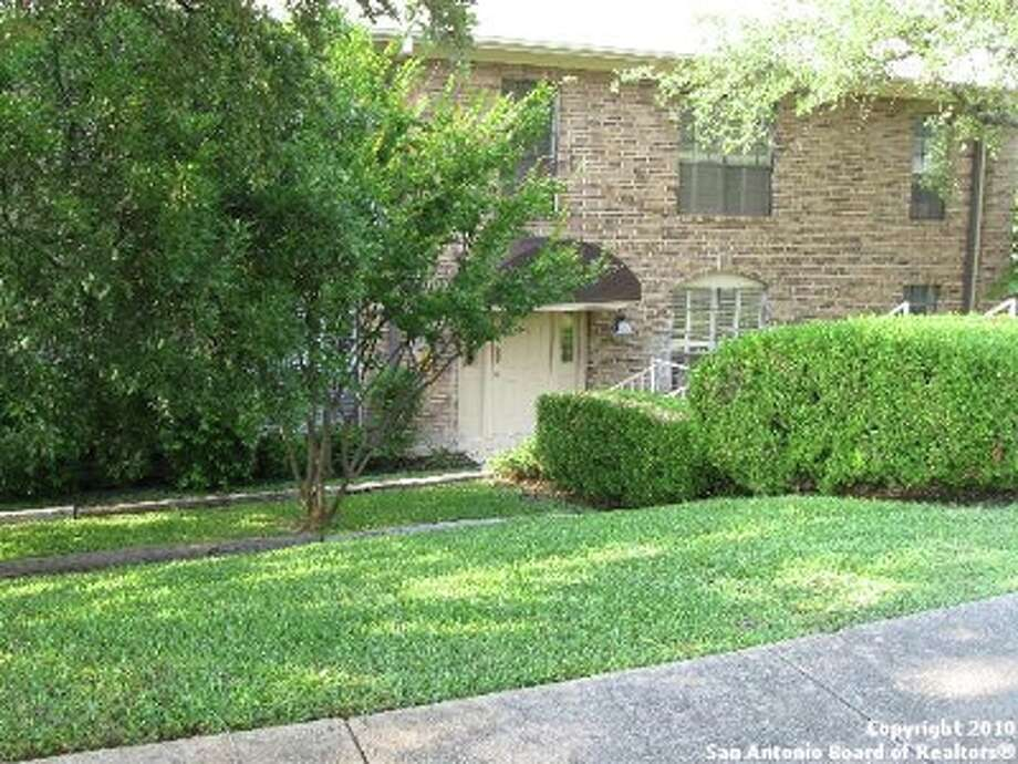 A one-story, two-bedroom, two-bath condo in the Alamo Heights School District is listed for $120,000.