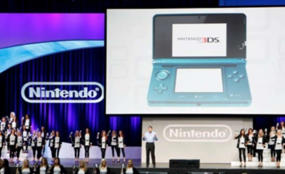 Nintendo's new 3D gaming system, the Nintendo 3DS, makes its debut during the annual E3 Electronic Entertainment Expo in Los Angeles on Tuesday.