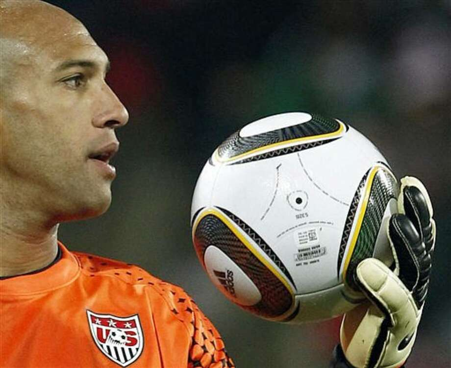 U.S. goalkeeper Tim Howard made several crucial stops to preserve a 1-1 draw with England on Saturday.