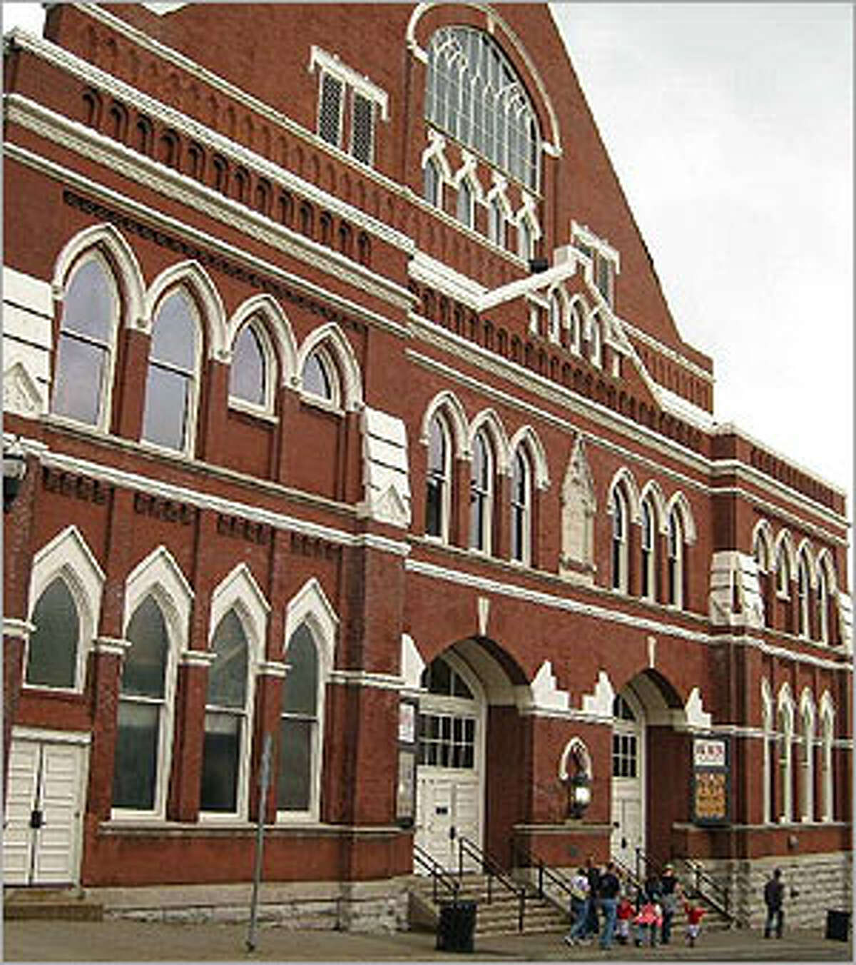 Ryman Auditorium, the original home of the Grand Ole Opry, is open for tours and shows.