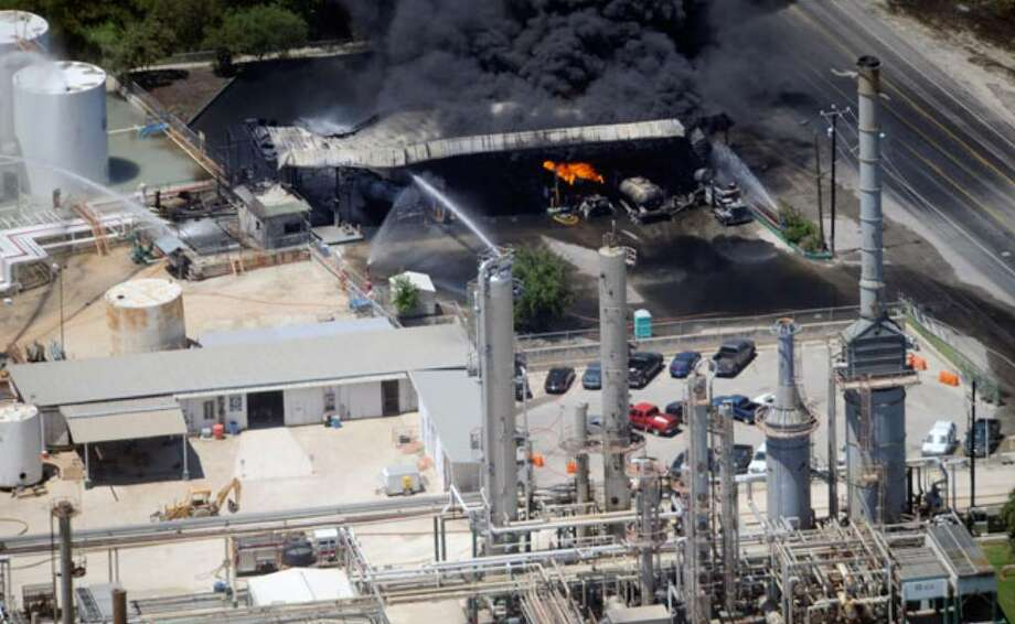 The AGE refinery fire broke out on May 5.