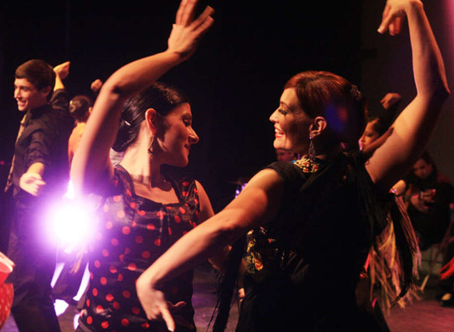 Kyndra Vigil (left) and Maria Trevi?o will be among the flamenco performers.