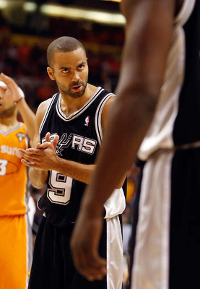 Tony Parker says he's ?not going anywhere? until his contract expires next year