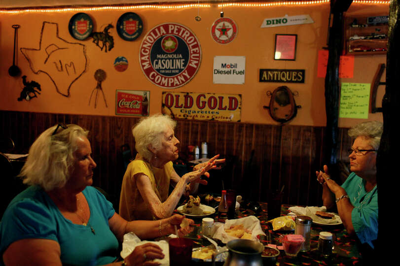 Friday, July 16 Sisters Dorothy Harrison, from left, a 25-year resident, and Jean Harrison, a