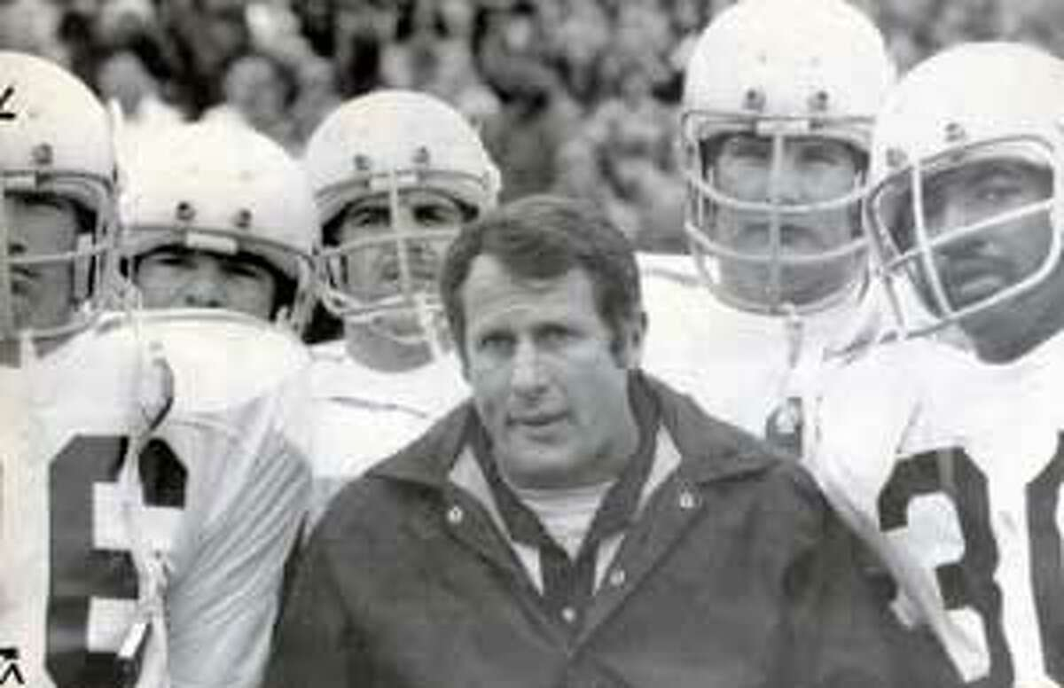 Emory Bellard, who was a head coach at Texas A&M, is credited with helping create the wishbone offense while a UT assistant.