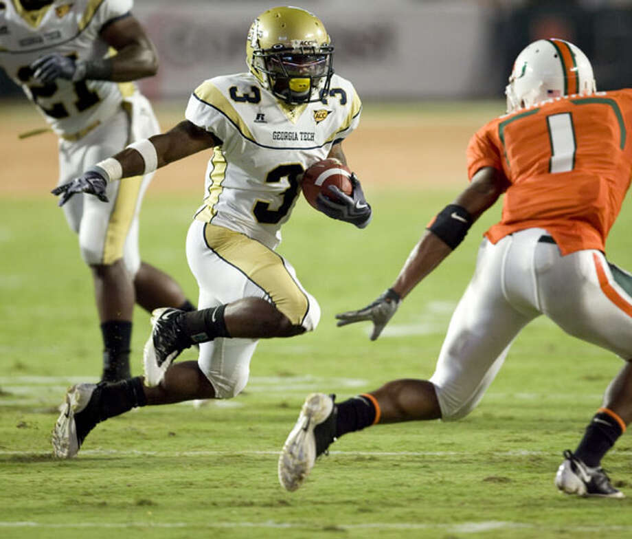 Marcus Wright, RB, Georgia Tech: As a junior from Reagan, running against Miami last year, played in all 14 games, rushing for 190 yards and three TDs on 33 carries (5.8-yard average) as a reserve.
