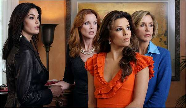 Producers promise even more conflict among the women of Wisteria Lane, played by Teri Hatcher (from left), Marcia Cross, Eva Longoria Parker and Felicity Huffman.