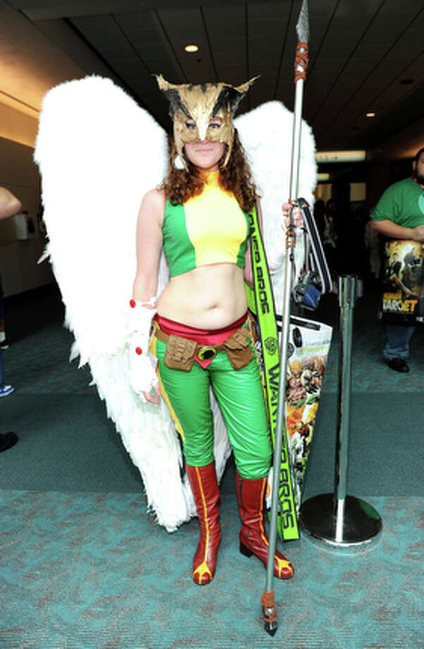 Comic-Con attendee Brianna Corral. / 2010 Getty Images
