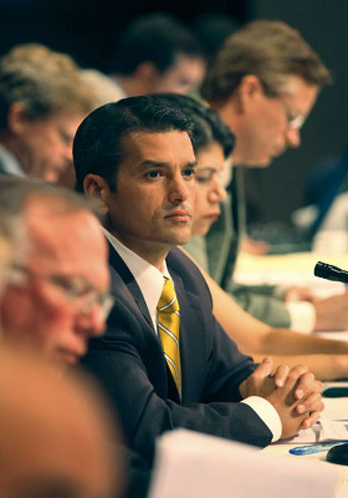 Hearing Chairman state Rep. Mike Villarreal urged colleagues to ?reinvent? the redistricting process.