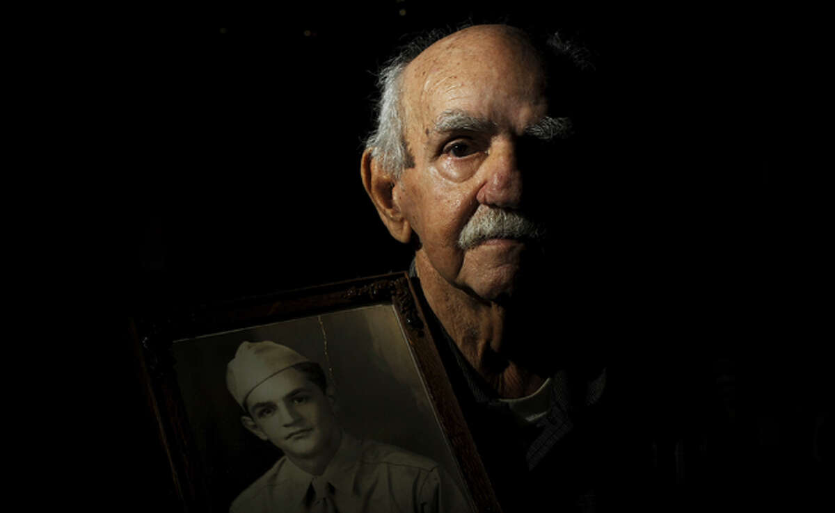 Raul Pena Ochoa, now 88, was 22 years old when he parachuted into France during the Allies' D-Day invasion of Europe on June 6, 1944.