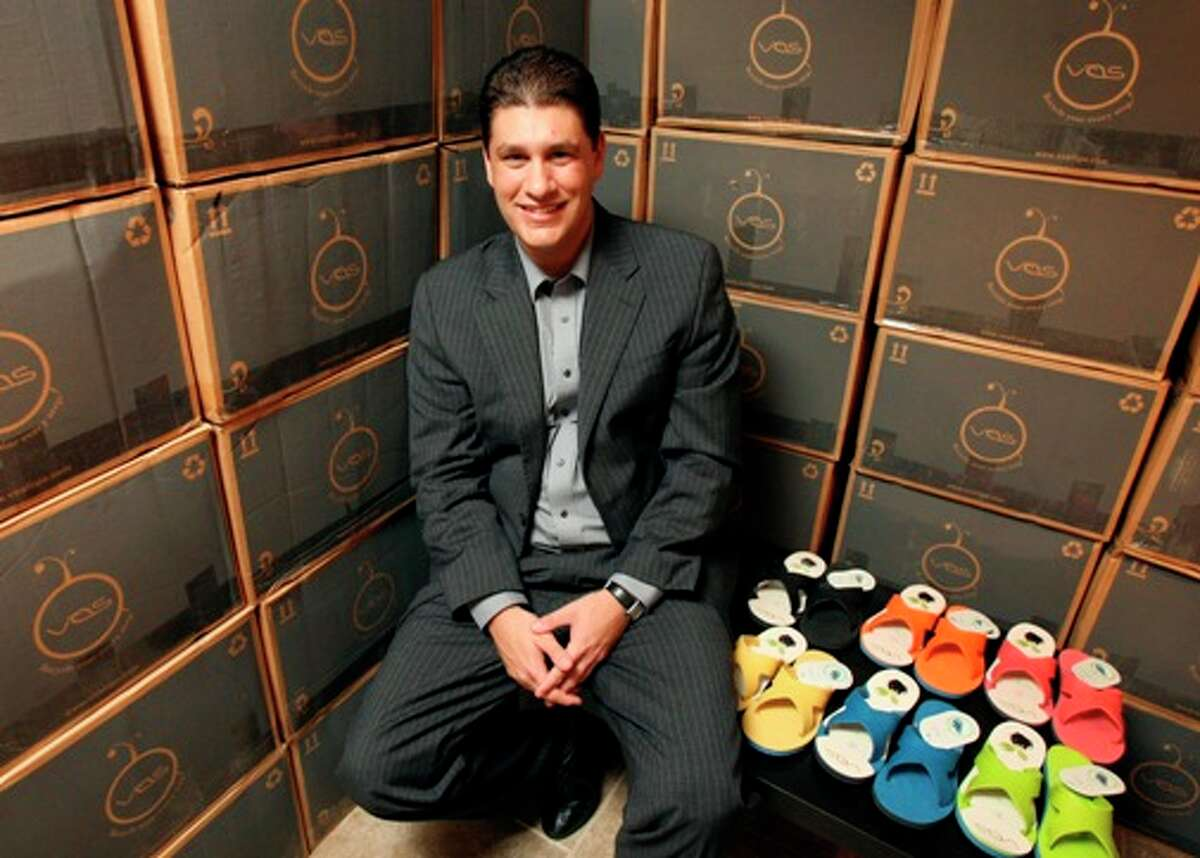 VOS founder Jos? Alejandro Flores, a San Antonio native, started his company with his own investment and a $50,000 loan.