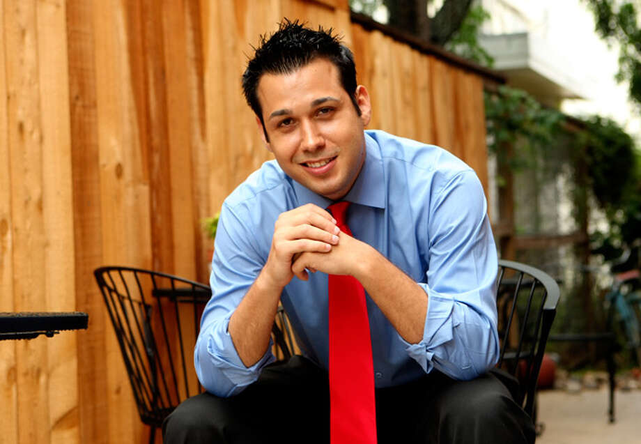 "S.A native Christopher Mendoza also frequents reality television. He's appeared on ""Flip this House,"" ""Seducing Cindy,"" ""RuPaul's Drag Race"" and ""Hell's Kitchen.""  / SAN ANTONIO EXPRESS-NEWS"