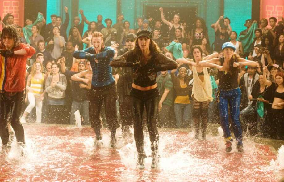 "Things get wet and wild in this scene from ""Step Up 3D."""