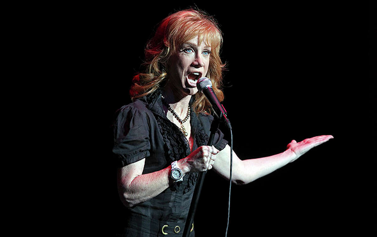 Kathy Griffin performs at the Majestic Theatre.