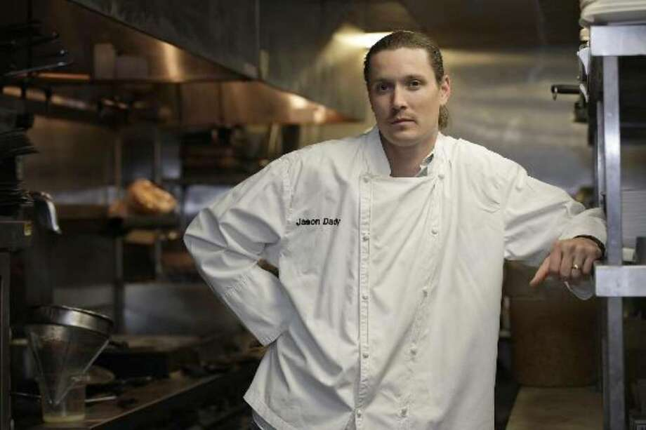 Bin 555 chef and owner Jason Dady at his restaurant in Artisan's Alley.