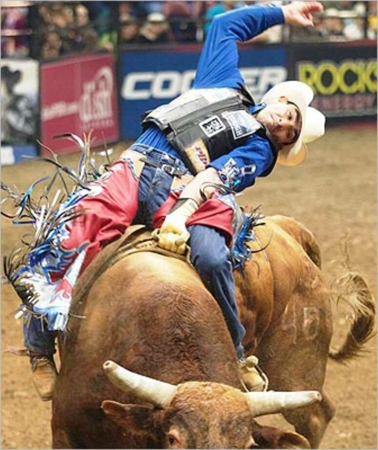 Brazilian cowboy Renato Nunes will be among the 40 top bull riders at the event.