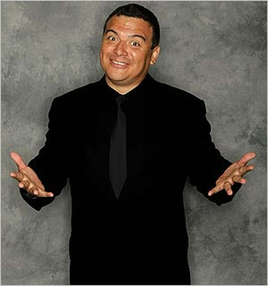 In the kitchen at his Maggie Rita's Tex-Mex Grill & Bar, it's all about the charro beans for Carlos Mencia.