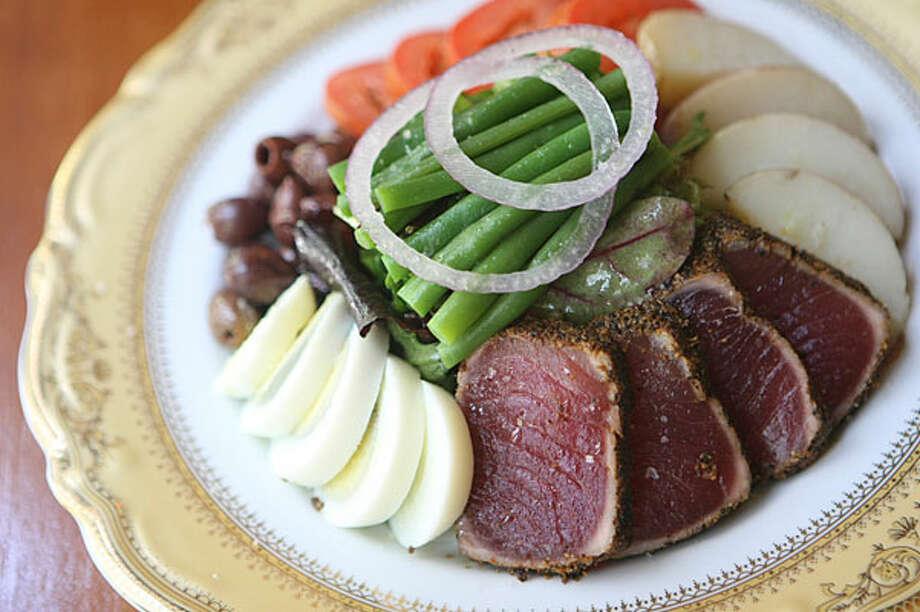 Nicoise Salad from Bohanan's Bar works as a light lunch. / SAN ANTONIO EXPRESS-NEWS