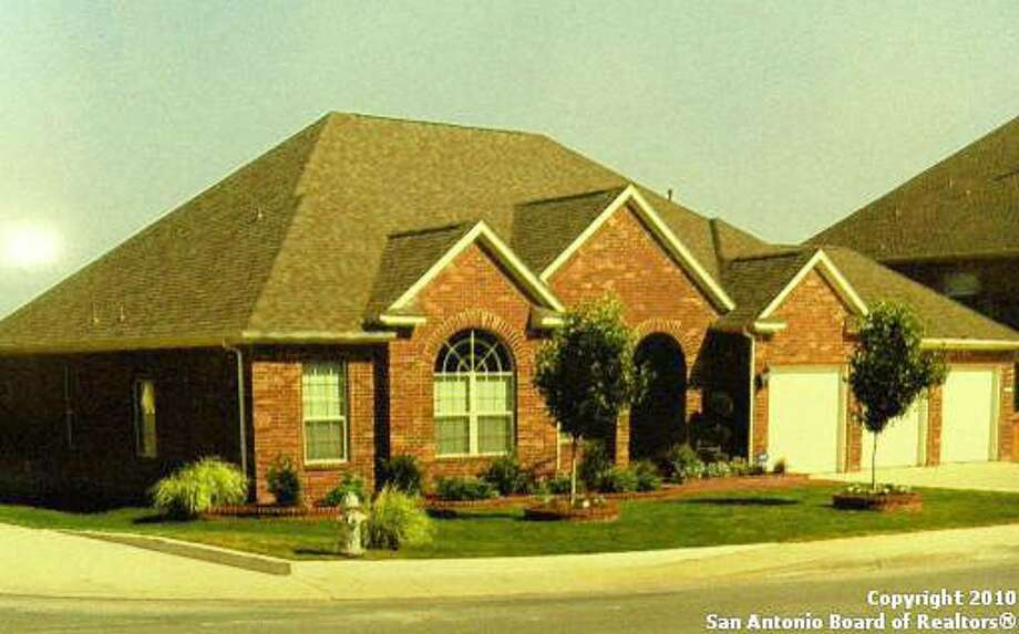 This one-story, 3 1/2-year-old home in the Alamo Ranch subdivision offers four bedrooms and 3 1/2 baths.