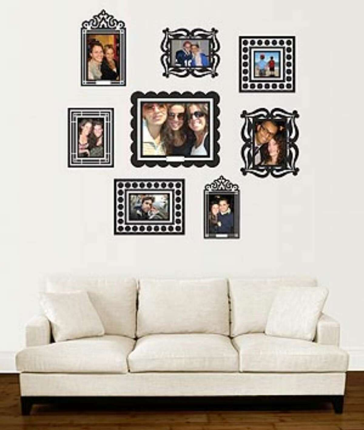 Stickr Frames, $19.95, DormCo.com: Removable adhesive