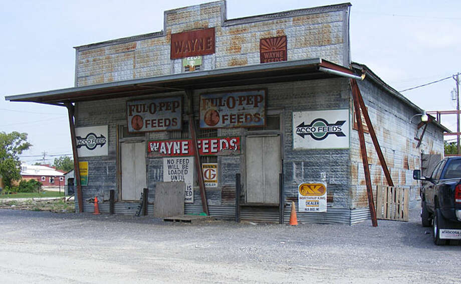 The Hild Brothers feed storage warehouse, which is over 100 years old, is expected to be moved to a reconstructed western town.