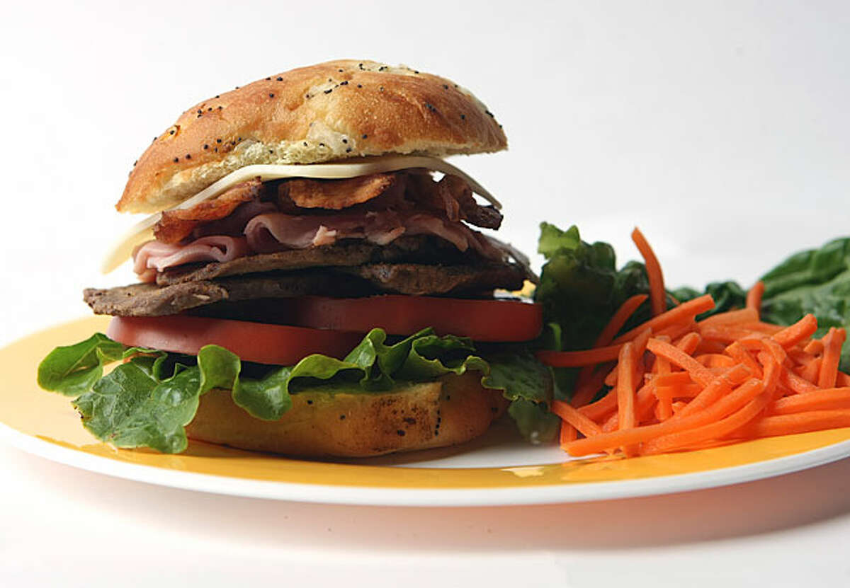 Uruguayan Chivito is a traditional Uruguayan sandwich of sliced beef, ham, cheese, lettuce, tomato and egg. Pantanal Restaurant- Bridgeport, CTUruguay vs. Egypt: June 14