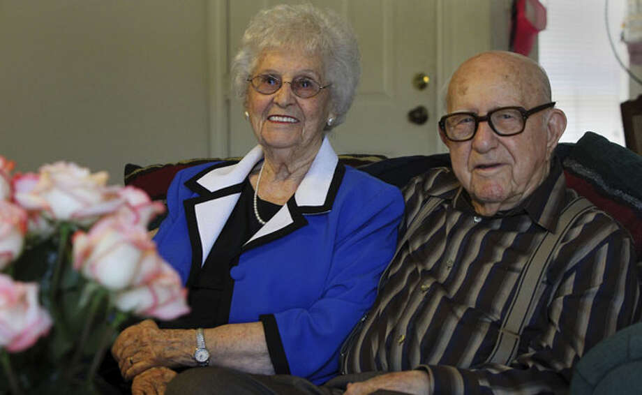Elsie and Lloyd Hill grew up on farms without electricity or refrigerators. Each fall, their families would kill a hog, salting the meat and eating pork all winter.