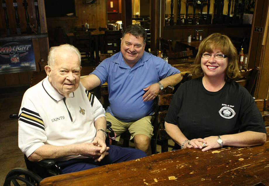 M.K.(from left), Michael and Melissa Davis are the owners of M.K. Davis, which will celebrate its 55th anniversary in 2011. / SAN ANTONIO EXPRESS-NEWS