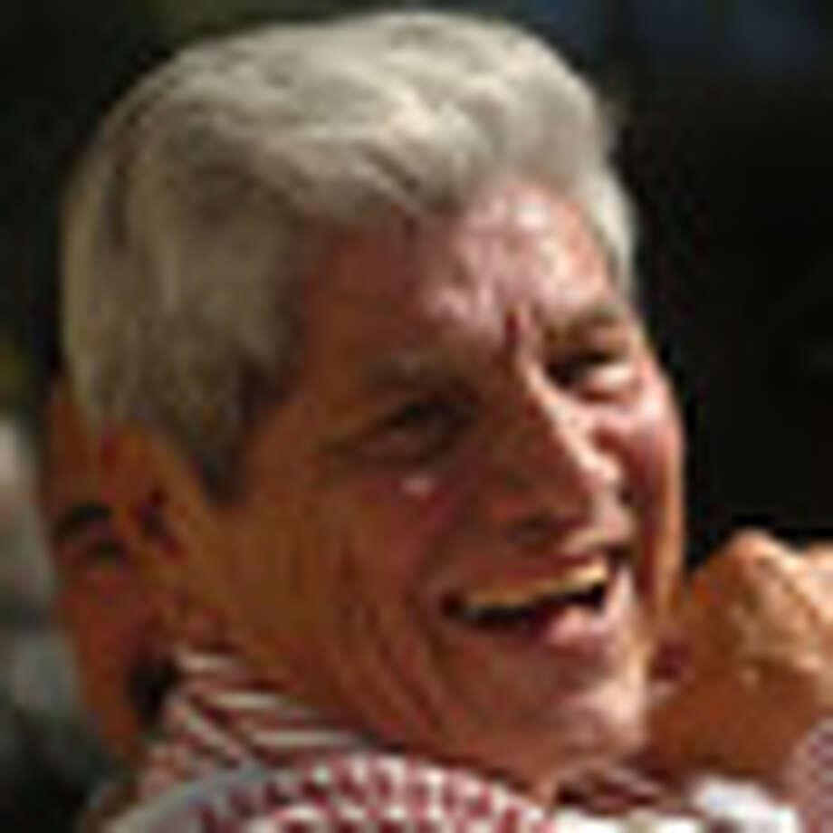 Accordion legend Ruben Vela / SAN ANTONIO EXPRESS-NEWS