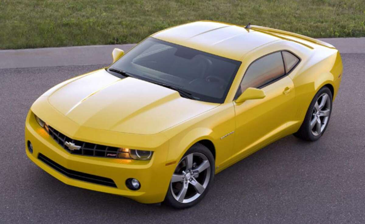 The 2010 Chevrolet Camaro still will offer the exhilarating acceleration of a V-8, but in an effort to improve its corporate average fuel economy, GM also is offering consumers the choice of a V-6 engine that's more efficient but still has 304 horsepower, more than double the power of the Chevrolet Corvette's V-8 of 25 years ago.