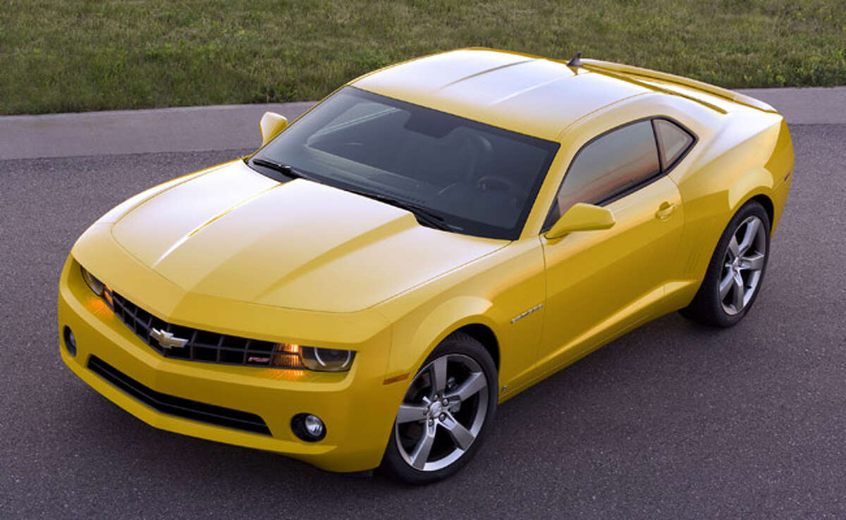 The 2010 Chevrolet Camaro still will offer the exhilarating acceleration of a V-8, but in an effort to improve its corporate average fuel economy, GM also is offering consumers the choice of a V-6 engine that?s more efficient but still has 304 horsepower, more than double the power of the Chevrolet Corvette?s V-8 of 25 years ago.