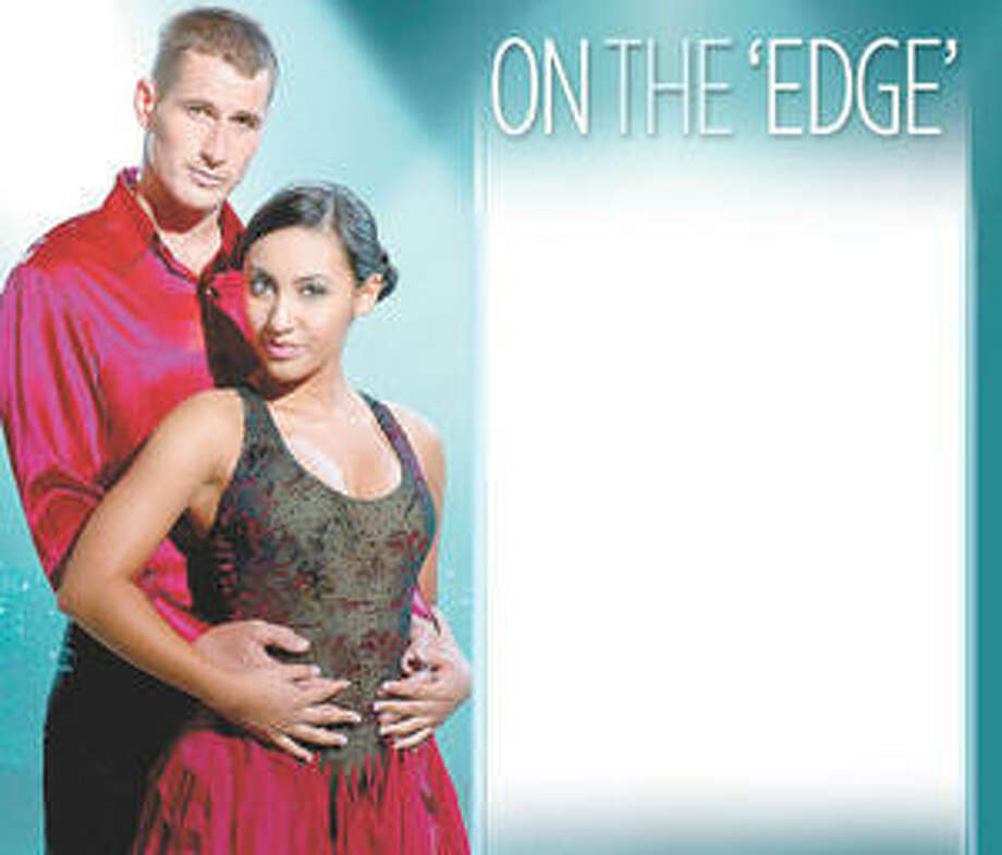 ?The Cutting Edge: Fire & Ice' stars Brendan Fehr as James McKinsey and Francia Raisa as Alex Delgado.