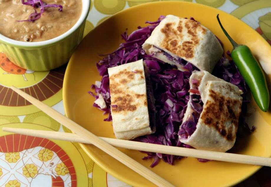 Thai-Mexican Rolls make a great appetizer or meal.