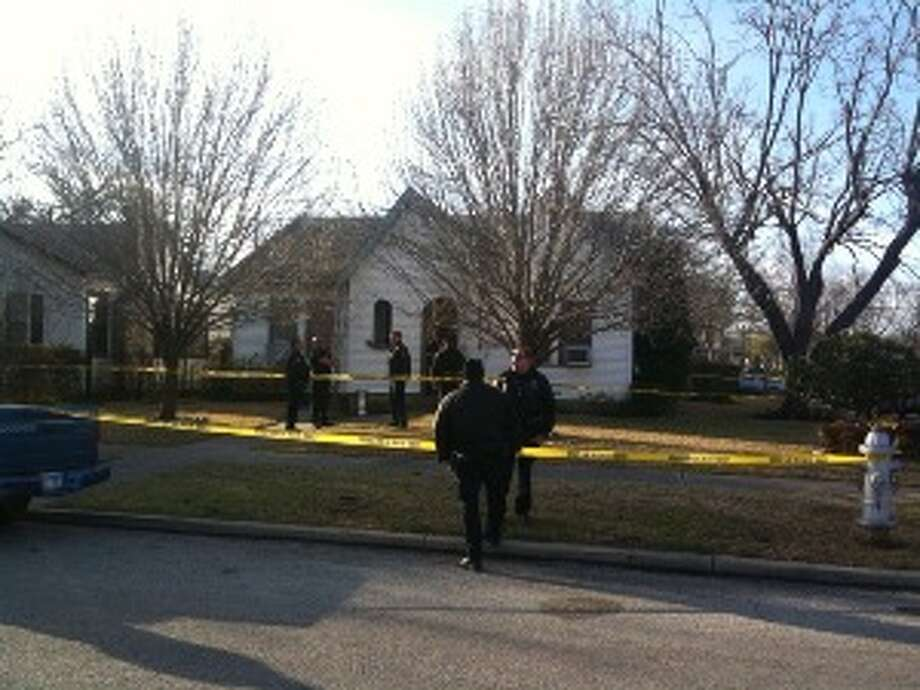 San Antonio police detained one man suspected of stabbing another in an East Side home Wednesday morning.