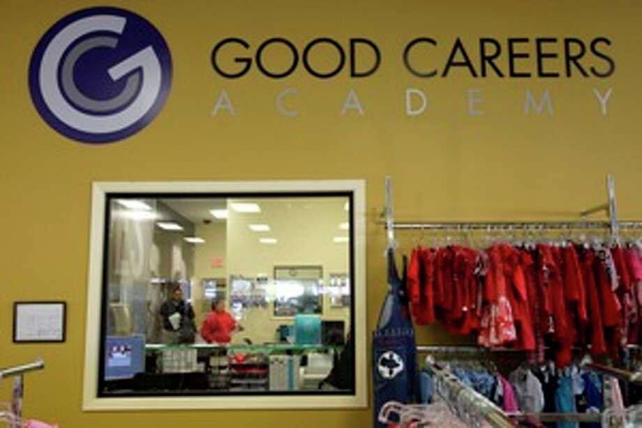 The Good Careers Academy, inside the North Side Goodwill Store, trains students for careers in fields such as information technology and medical office management.