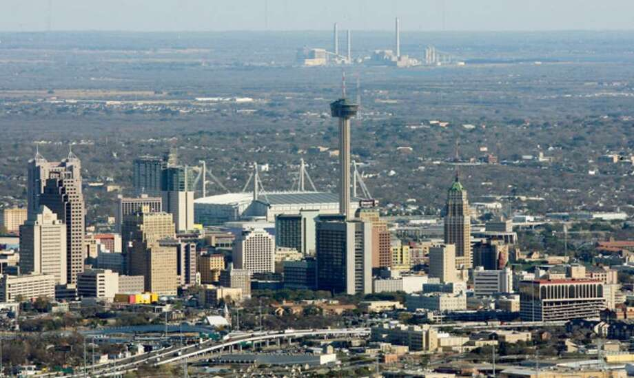 The Los Angeles area had the nation's worst ozone pollution according to a report by the American Lung Association. The San Antonio area (above) received an 'F' grade for ozone pollution.